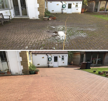 Driveway and Patio Cleaning and Sealing