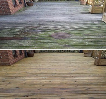Wood Decking Cleaning and Restoration Treatments