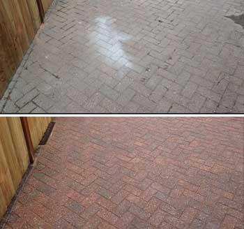 Block Paving Cleaning, Repairs, Re-sanding and Sealing