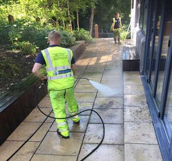 Building Site Cleaning