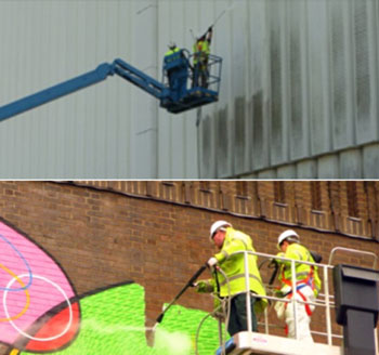 High Level Building Cleaning
