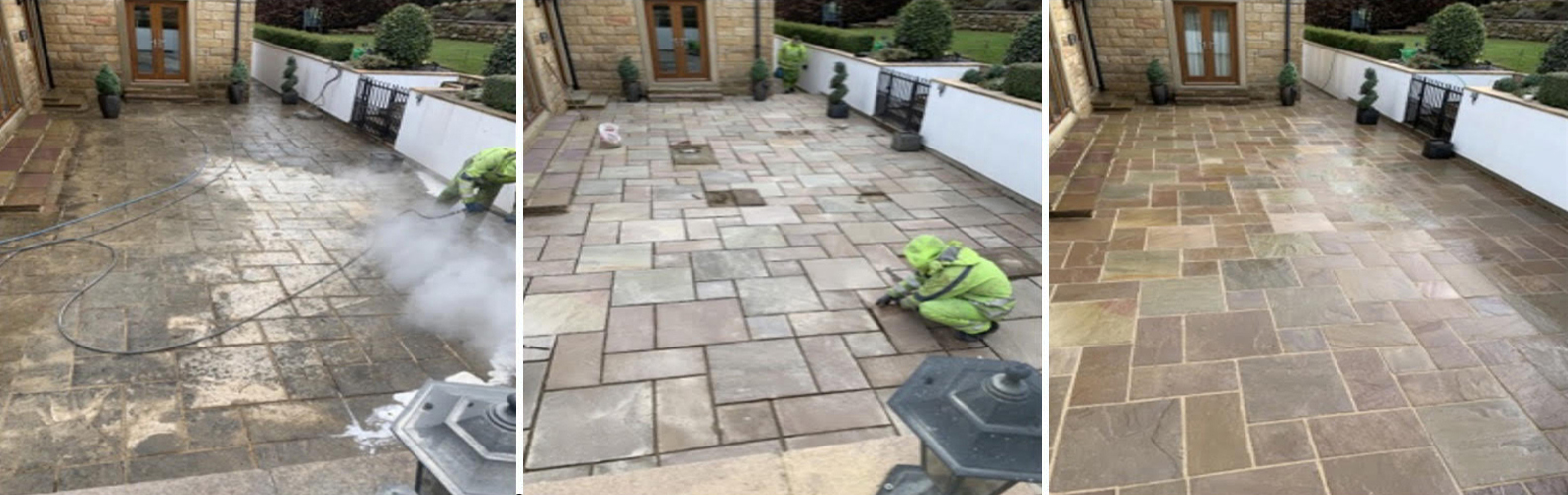 Flagstone-Patio-cleaning