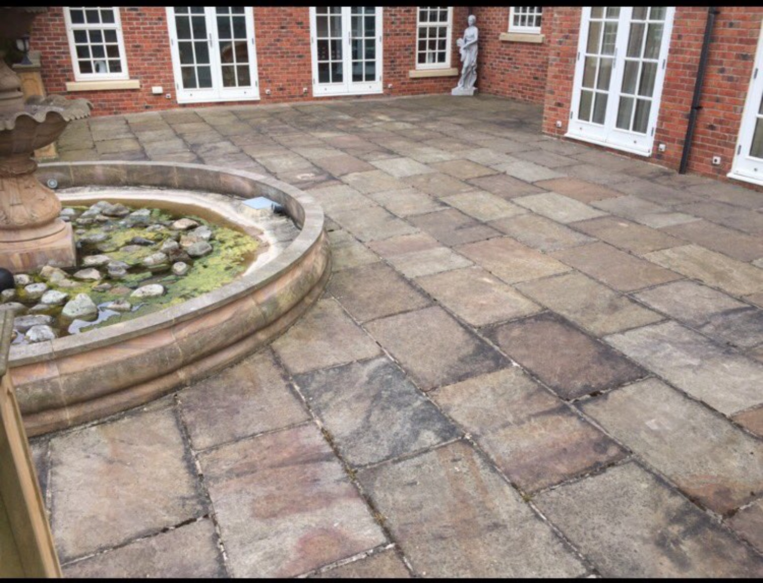 Dirty Indian Flagstones