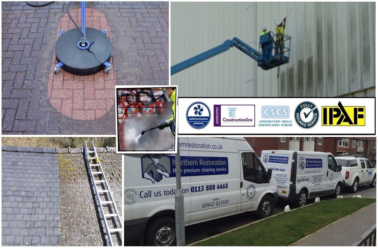 pressure washing services in leeds