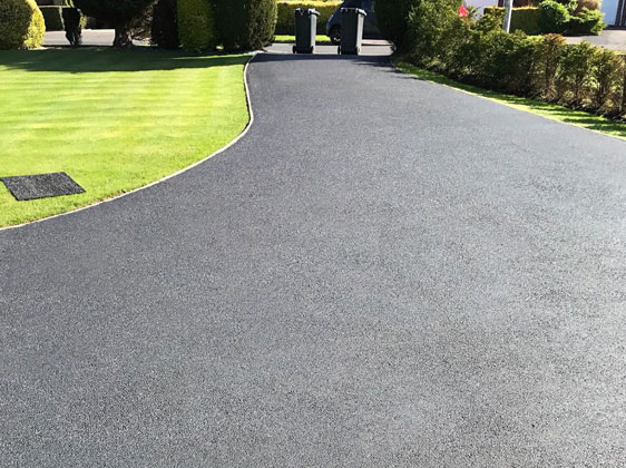 Tarmac Recoloured and Sealed