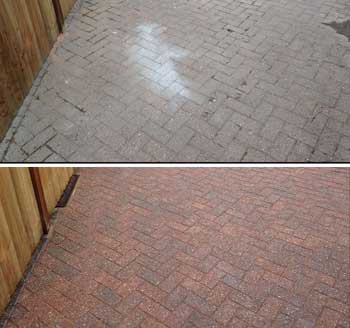 Block Paving Cleaning, Repairs, Re-sanding and Sealing