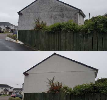 Render and Pebbledash Cleaning Treatments