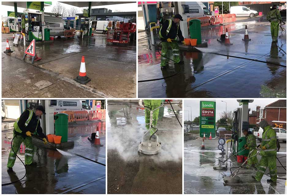 Petrol-Station-Cleaning