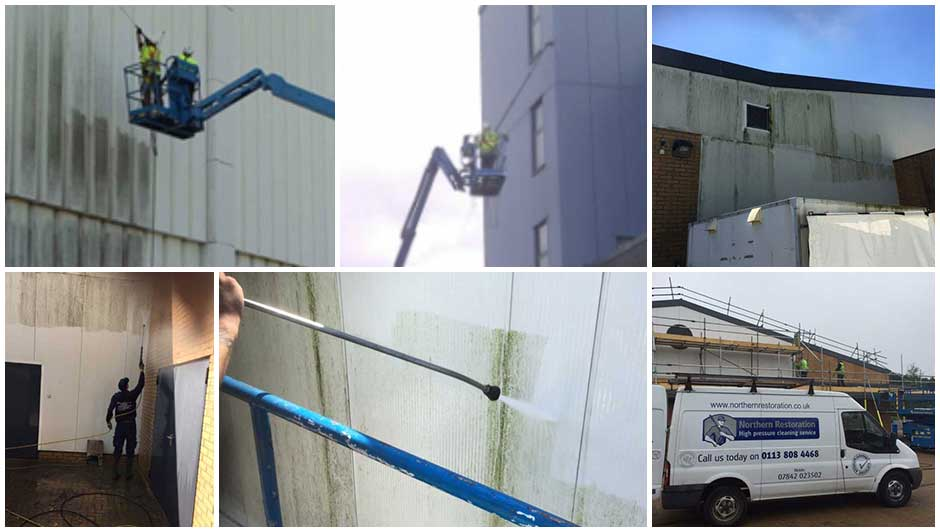 Cladding-Cleaning